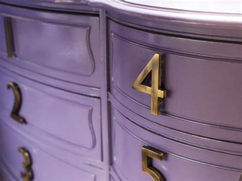 update drawer layout how to update a dresser with house numbers hgtv