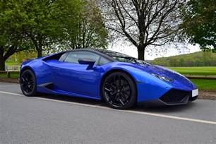 Lamborghini Huracan Blue Cosmic Blue Wrapped Lamborghini Huracan By Reforma Uk