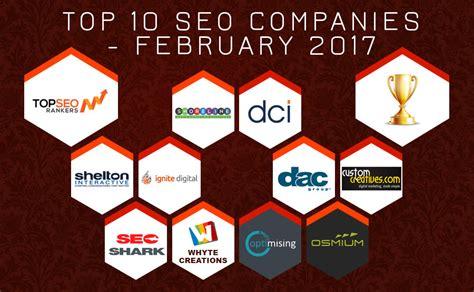 Seo Companys 1 by Top 10 Seo Companies February 2017 Top Seo Rankers
