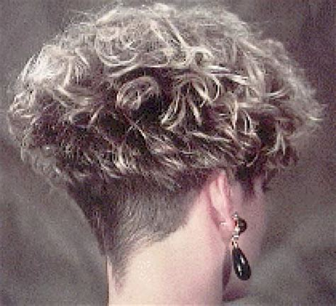 women perm and shaved nape hair hairxstatic short back cropped gallery 2 of 3
