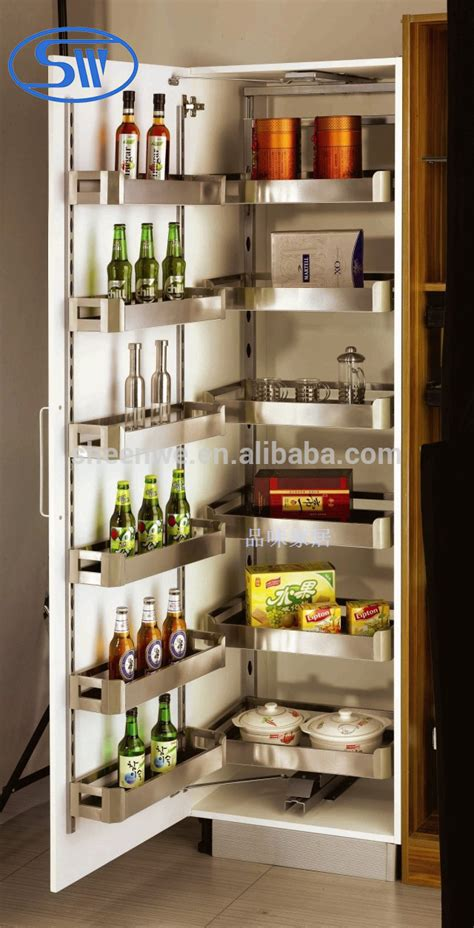 Metal Kitchen Pantry by Sw 450 Guangzhou Pull Out Pantry Unit Stainless Steel