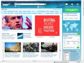 what is a home page new msn uk homepage redesign 2007