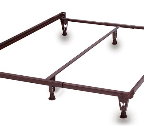 knickerbocker bed frames knickerbocker queen metal bedframe with glides metro