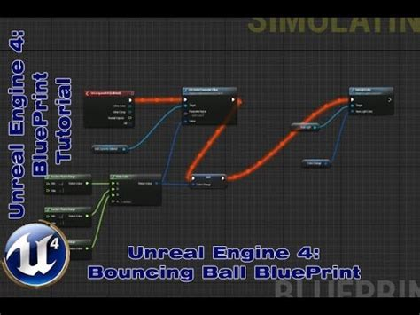 tutorial c ue4 ue4 bouncing ball and dynamic color change blueprint