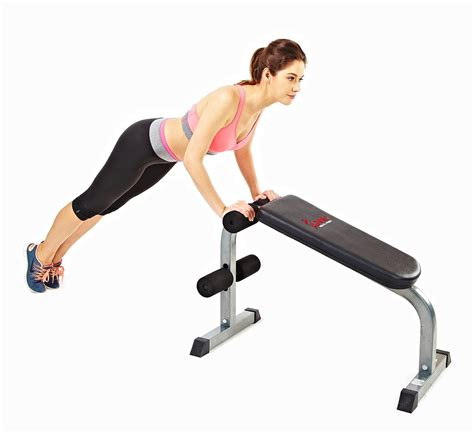 sit up bench benefits amazon com sunny health fitness sf bh6502 heavy duty