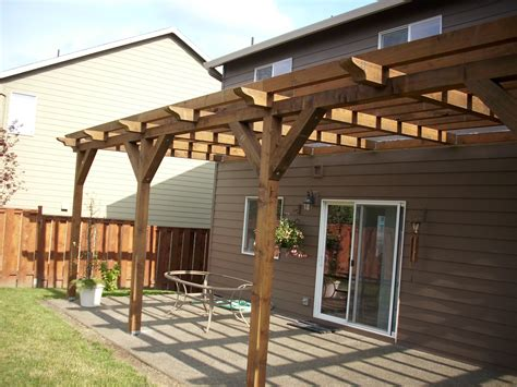 Pressure Treated 6 6 Pergola Deck Masters Llc Portland Or Pressure Treated Pergola
