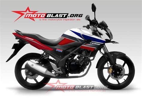 Striping Motor Honda Cb 150 R 2014 modif striping cb150r new rwb 2014 motoblast