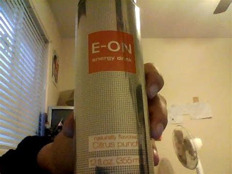 e on energy drink review e on citrus punch energy drink review