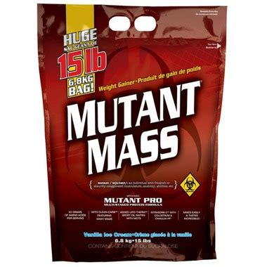 Mutant Mass Vanila 6 8 Kg buy mutant mass at well ca free shipping 35 in canada