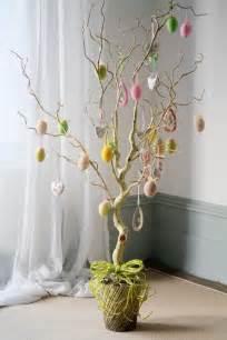 d 233 coration de la fabriquer un arbre de p 226 ques d 233 co