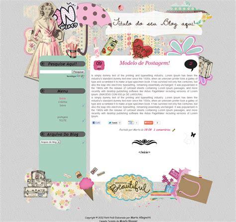 templates blogger de moda lulu lovers template free petit po 225
