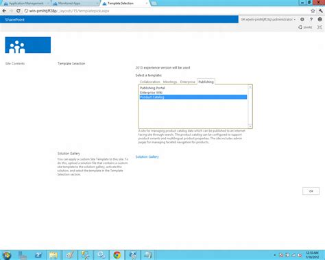 sharepoint 2013 product catalog site template bharath tech update installing sharepoint server 2013 as