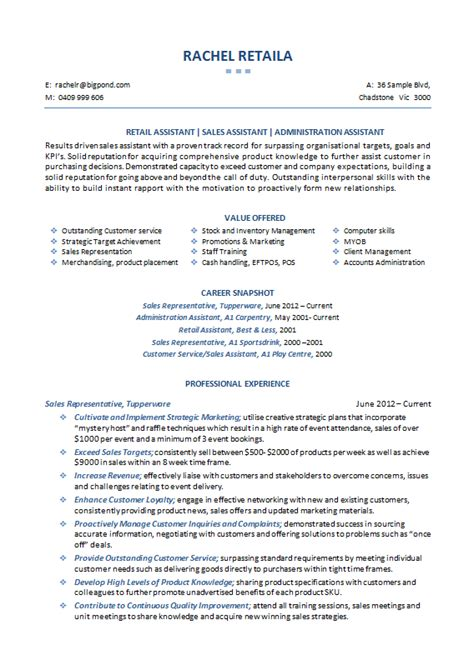 sales fmcg resume