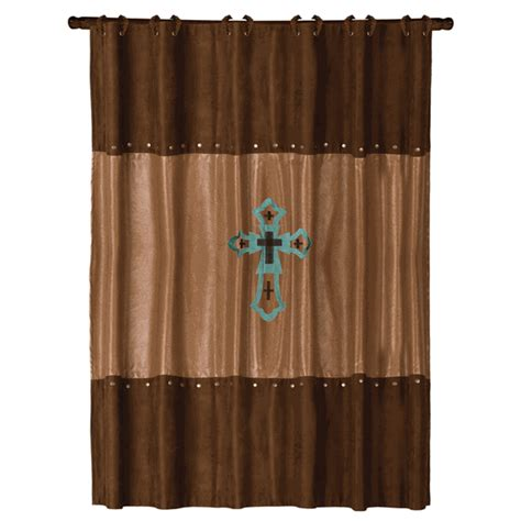 western bathroom shower curtains western shower curtains las cruces turquoise shower