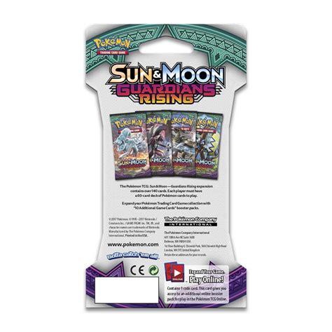Tcg Sun Moon Booster Pack pok 233 mon tcg sun moon guardians rising booster packs