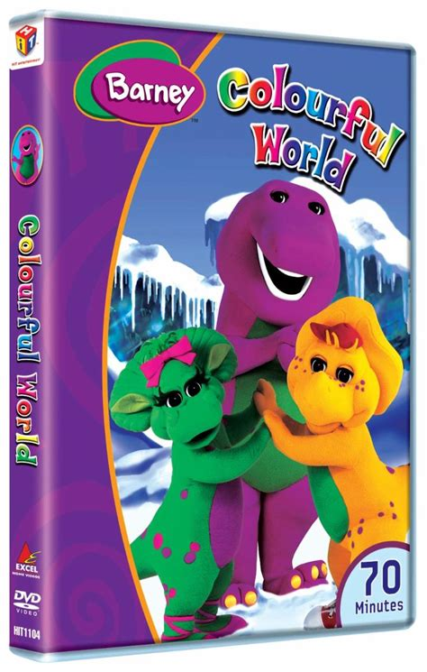 buy excel home barney colourful world dvd