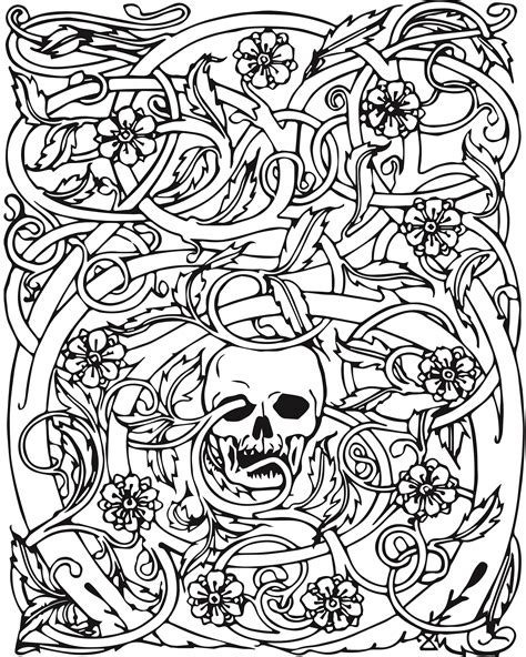 colour book printing free adult halloween coloring pages 187 coloring pages kids