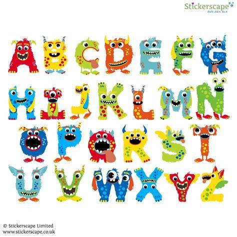 alphabet wall stickers for alphabet wall sticker stickerscape uk