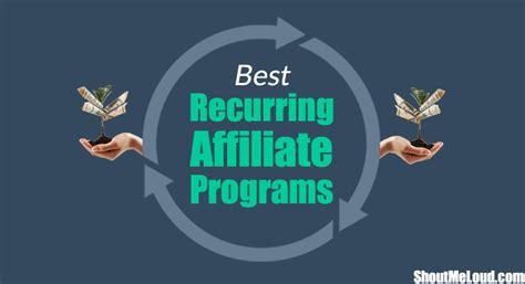 Best Online Money Making Programs - best recurring affiliate programs make free money for life 2016