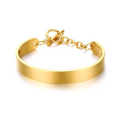 stainless steel bangle charm bracelets wholesale