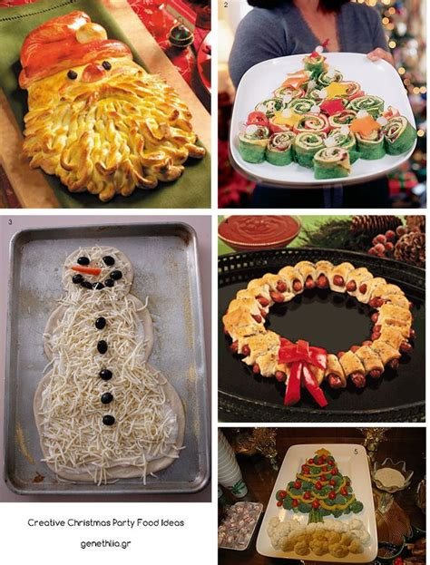 creative christmas party food ideas holidays pinterest