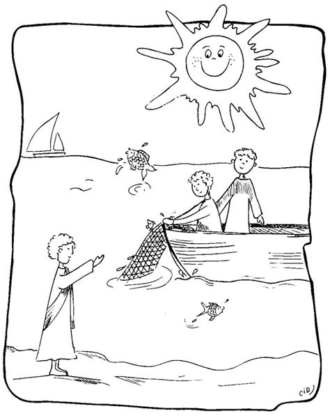 twelve disciples coloring page az coloring pages
