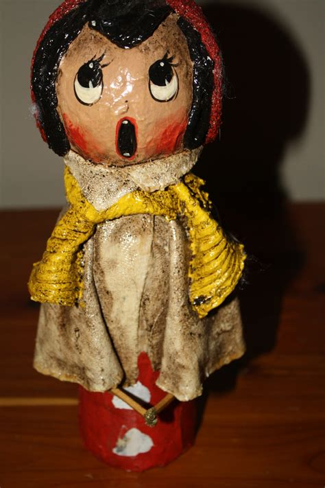 Paper Mache Doll - paper mache dolls collectors weekly