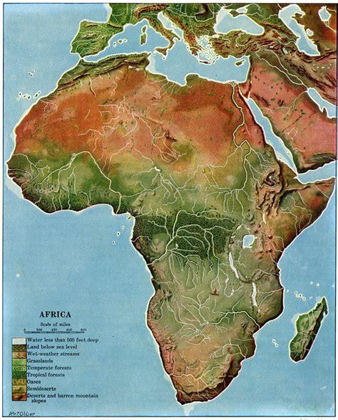 africa map regions africa maps