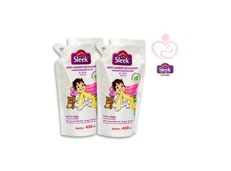 Sleek Baby Laundry Refill 450ml by Sleek Baby Laundry Detergent Refill 450ml Mothers