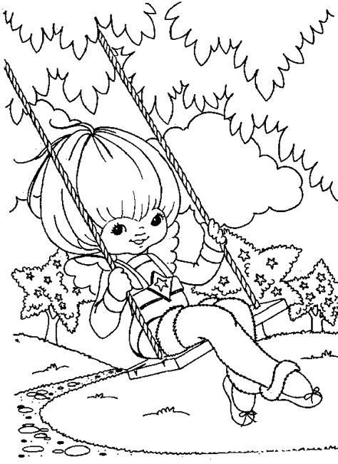 Rainbow Bright Coloring Pages Animations A 2 Z Coloring Pages Of Rainbow Brite by Rainbow Bright Coloring Pages
