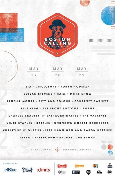 heres boston callings spring 2016 lineup boston calling reveals 2016 lineup