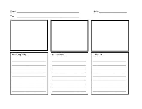 printable graphic organizer beginning middle end 17 best images of beginning middle end worksheet