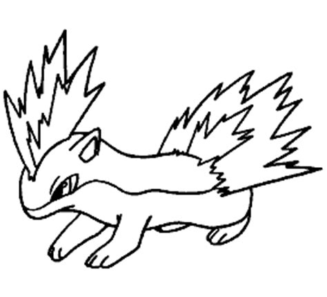 pokemon coloring pages quilava pokemon quilava coloring pages sketch coloring page