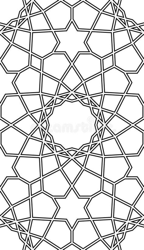 islamic pattern outline seamless islamic geometric pattern abstract background