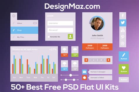 stunning kitchen designing software home hardware user interface 55 best free psd flat ui kits designmaz