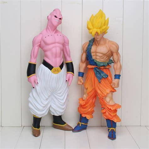 cm super big son goku action figure super saiyan buu prefect cell dragon ball  pvc collection