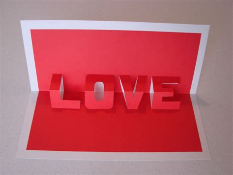 how to make a pop up valentines card diy pop up cards