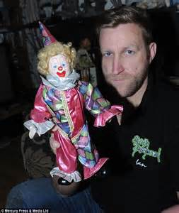 haunted doll experiences claims his collection of dolls is haunted by the