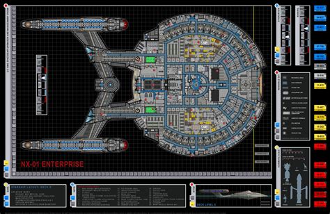 uss enterprise floor plan star trek sci fi blog star treks starships going badly
