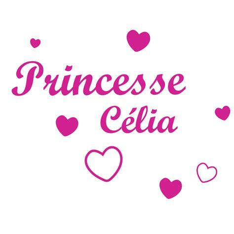 stickers chambre fille princesse stickers chambre filles pr 233 nom et coeurs d 233 cor 233 c 233 bo