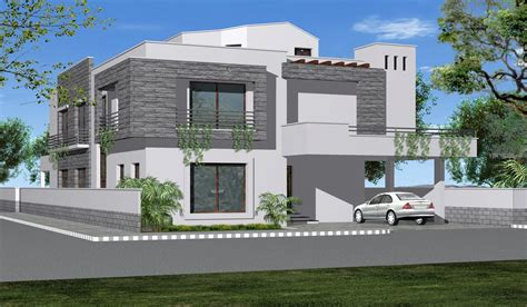 front elevation for house 3d perspective views