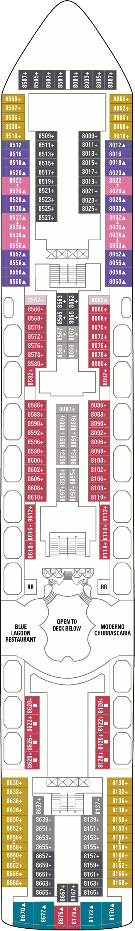 norwegian dawn floor plan norwegian dawn deck plans