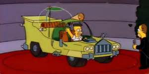 Electric Car Of The Future Simpsons That Disastrous Car Homer Designed Was Actually