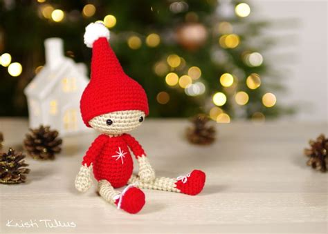 pattern for a christmas elf free pattern small christmas elf kristi tullus blog