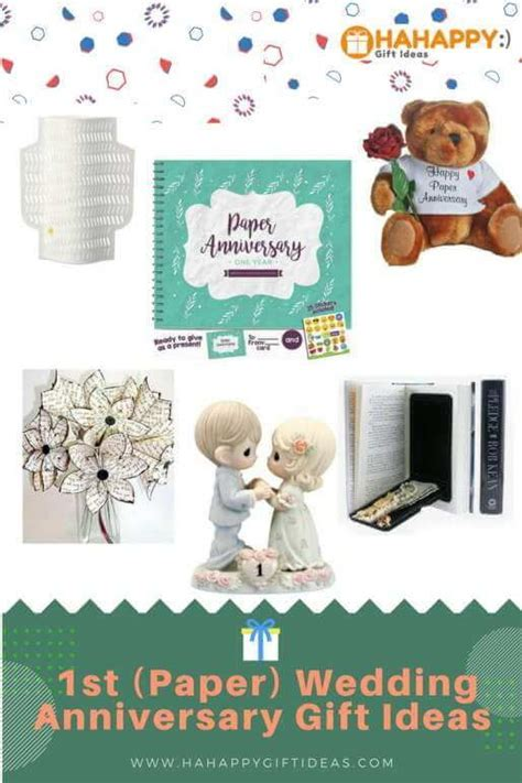 Romantic 1st (Paper) Wedding Anniversary Gift Ideas