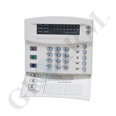 nx 1316e ge interlogix networx 16 zone led alarm keypad