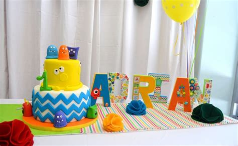 Lorful Monster Themed St  Ee  Birthday Ee   Party Pretty Party