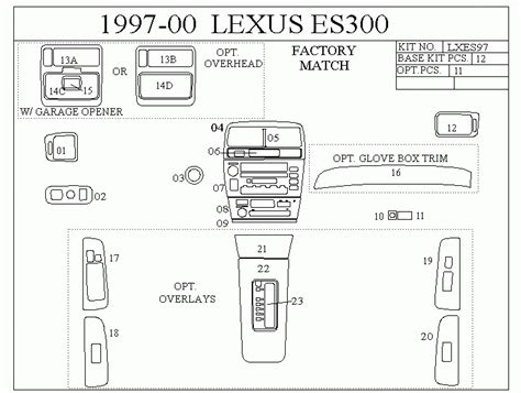 automotive service manuals 2007 lexus sc parking system service manual 1997 dodge ram van 2500 dash removal diagram dodge truck interior parts mopar