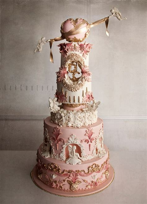 Detailed Wedding Cakes by Kek Couture S Ornate Cakes Just In Time For