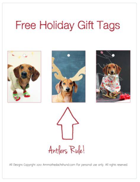 printable dog gift tags free printable editable christmas gift tags new calendar